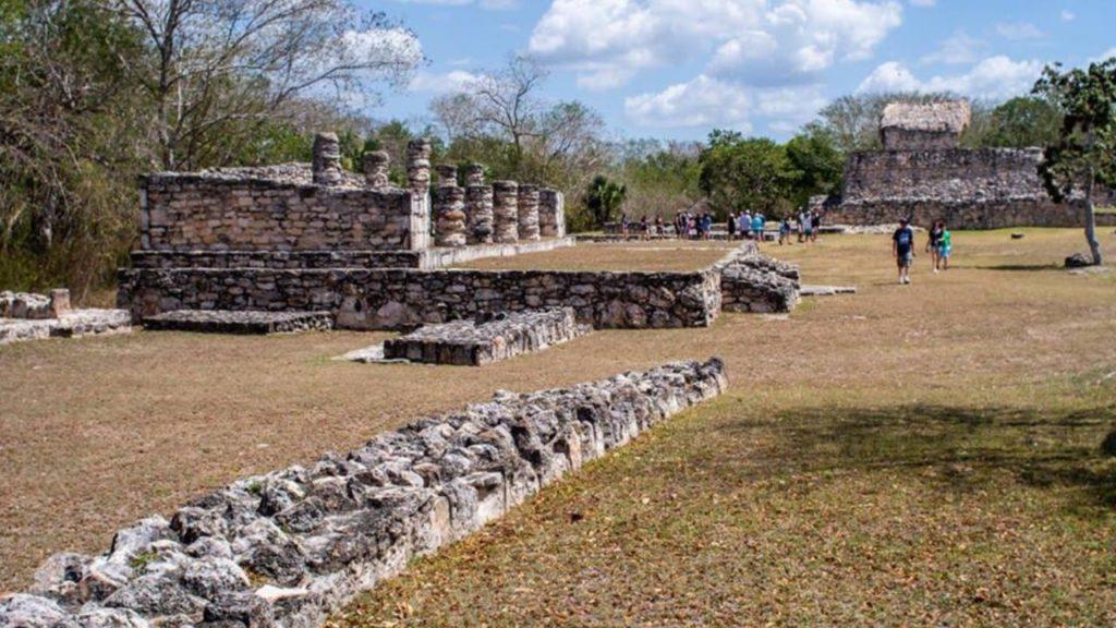 Мексиканский Майяпан - тренировочный центр воинской подготовки 1