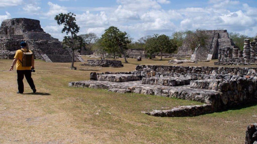 Мексиканский Майяпан - тренировочный центр воинской подготовки 3