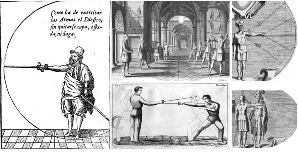 Демонстрации из трактатов Испанской школы фехтования