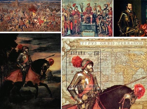В начале XVI века к палермскому двору пришел будущий король Испании Карл V, ставший королем Палермо