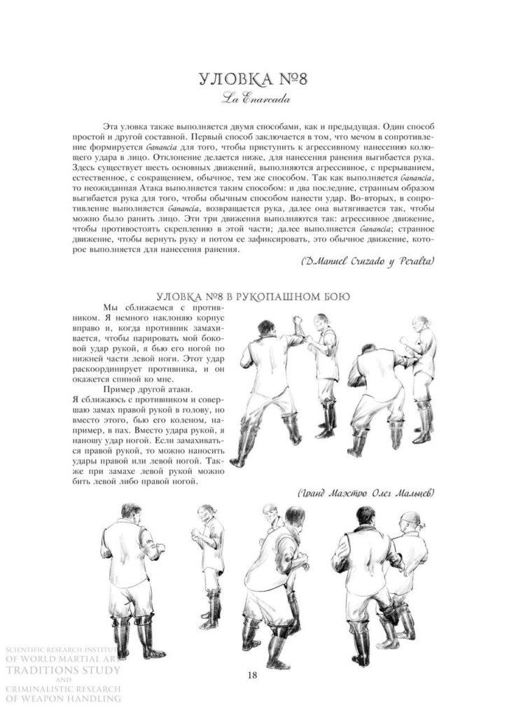 Уловки вульгарного и общего фехтования в рукопашном бою 2