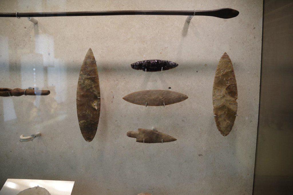 каменный нож, музей Мексика, Юкотан