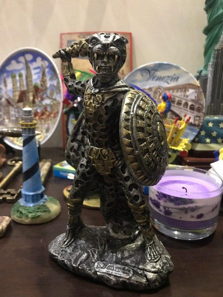 Ягуар - символ воина, фехтование