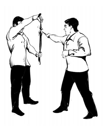 опасная бритва фехтование бой