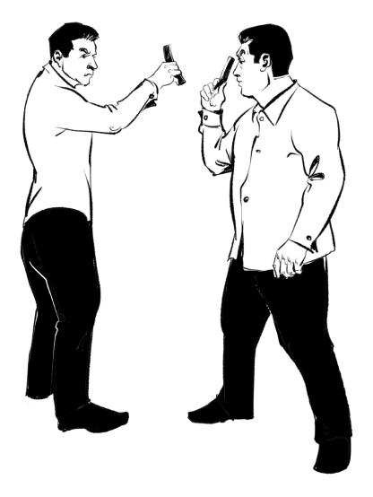 12 принципов боя опасной бритвой